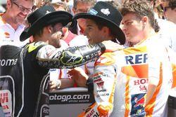 1. Marc Marquez, Repsol Honda Team, mit Cal Crutchlow, Team LCR Honda
