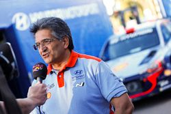 Michel Nandan, head of Hyundai Motorsport