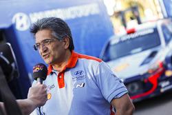 Michel Nandan, directeur, Hyundai Motorsport