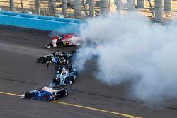 L'incidente di Mikhail Aleshin, Schmidt Peterson Motorsports Honda