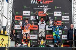 Podio: Jeffrey Herlings, Red Bull KTM Factory Racing, Gautier Paulin, Rockstar Energy Husqvarna Fact