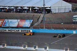 Takuma Sato, Andretti Autosport Honda, Ed Carpenter, Ed Carpenter Racing Chevrolet