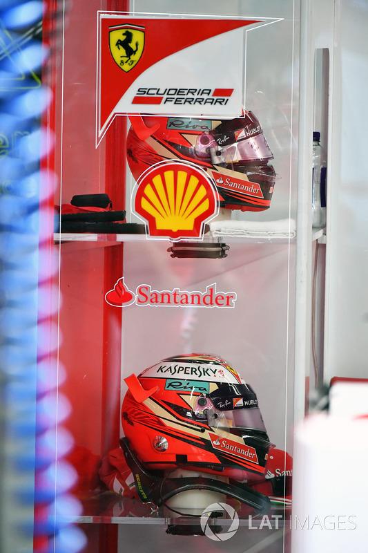 Kimi Raikkonen, Ferrari kaskı