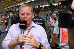 Комментатор Sky Sports F1 Мартин Брандл