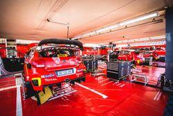 La voiture de Kris Meeke, Paul Nagle, Citroën C3 WRC, Citroën World Rally Team