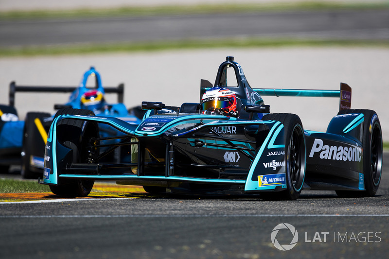Mitch Evans, Panasonic Jaguar Racing y Sebastien Buemi, Renault e.Dams