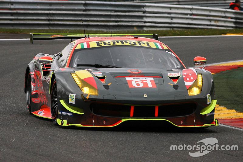 3. GTE-Am: #61 Clearwater Racing, Ferrari 488 GTE