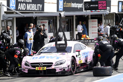 Arrêt au stand, Lucas Auer, Mercedes-AMG Team HWA, Mercedes-AMG C63 DTM