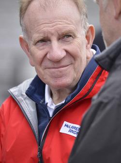 Neil Oatley, directeur du design et du développement McLaren