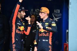 Daniel Ricciardo, Red Bull Racing en Max Verstappen, Red Bull Racing in parc ferme
