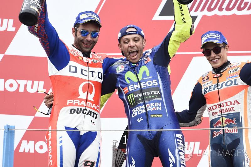 2017 : Valentino Rossi (Yamaha Factory Racing)