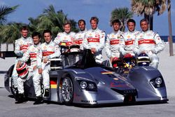 Michele Alboreto, Christian Abt, Rinaldo Capello, Allan McNish, Stéphane Ortelli, Laurent Aiello, To