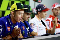 Valentino Rossi, Yamaha Factory Racing, Maverick Viñales, Yamaha Factory Racing, Marc Marquez, Repso