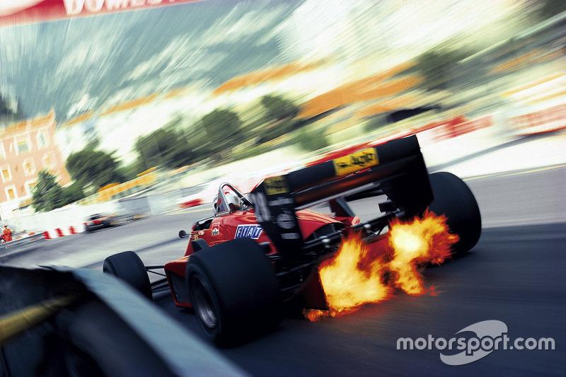 1985 - Stefan Johansson, Ferrari