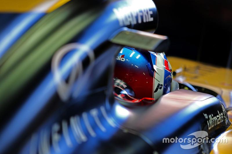 Jeudi : Jolyon Palmer, Renault Sport F1 Team