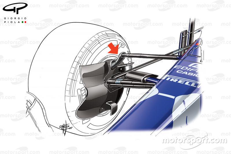Передня підвіска Toro Rosso STR12