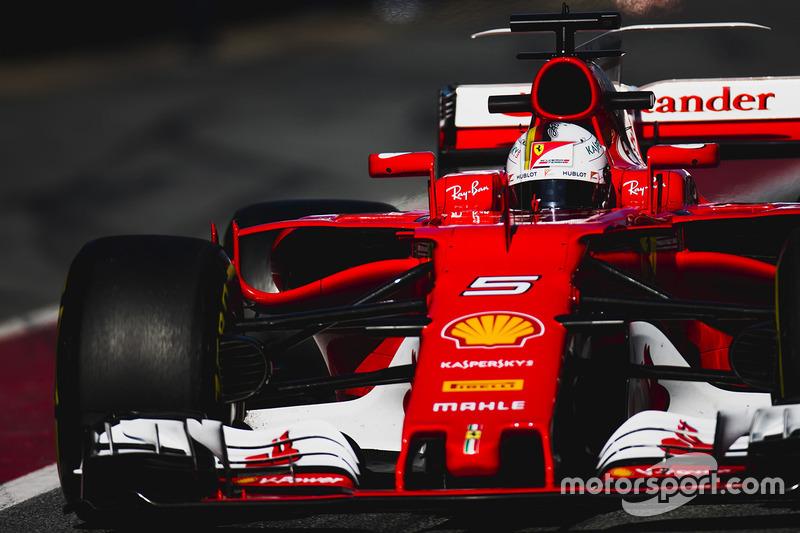 2: Sebastian Vettel, Ferrari SF70H, 1:19.952, softs, day 3 (267 laps)