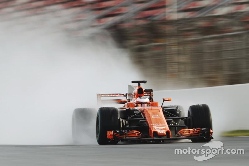 Jeudi : Stoffel Vandoorne, McLaren