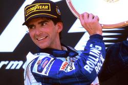 Podio: Ganador, Damon Hill, Williams Renault