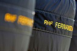 Tyres for Fernando Alonso, McLaren