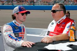 Ryan Blaney, Wood Brothers Racing, Ford, mit Crewchief Jeremy Bullins