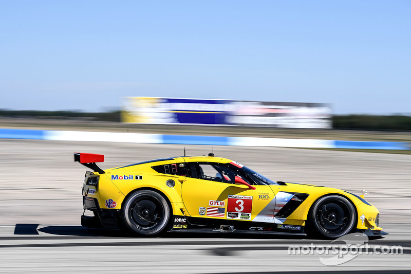 1. GTLM: #3 Corvette Racing, Chevrolet Corvette C7.R
