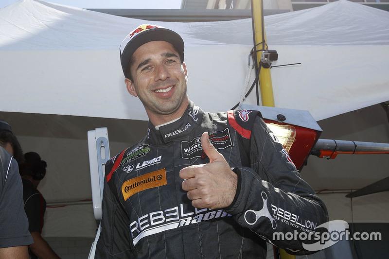 Il vincitore della pole P Neel Jani, Rebellion Racing