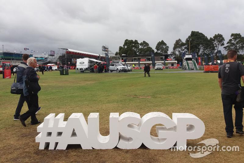 #AUSGP yang menjadi hashtag khusus GP Australia