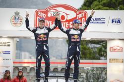 Les vainqueurs Sébastien Ogier, Julien Ingrassia, Ford Fiesta WRC, M-Sport
