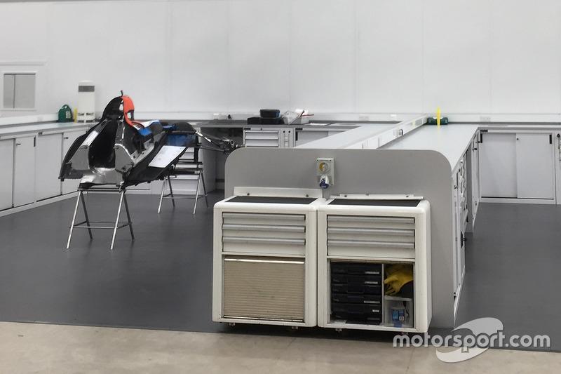 2017 Manor Racing chasis