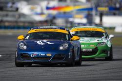 #8 Rebel Rock Racing, Porsche Cayman: David Roberts, Dion von Moltke