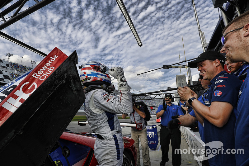 Pole GTLM voor Joey Hand, Ford Performance Chip Ganassi Racing