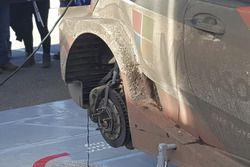 Toyota Yaris WRC Plus, freni posteriori