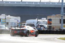 #77 Compass360 Racing, McLaren GT4: Matthew Keegan, Nico Rondet lost some liquid