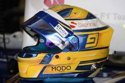 Marcus Ericsson, Sauber casco