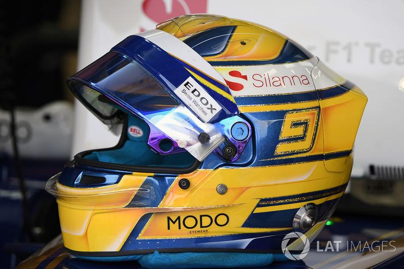 Marcus Ericsson, Sauber kask