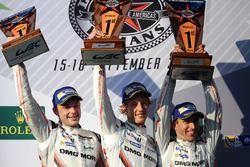Ganadores, Timo Bernhard, Earl Bamber, Brendon Hartley, Porsche Team