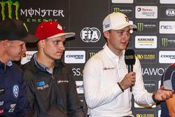 Conférence de presse : Reinis Nitiss, EKS, Audi S1 EKS RX Quattro