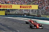 Себастьян Феттель, Ferrari SF70H, Кімі Райкконен, Ferrari SF70H