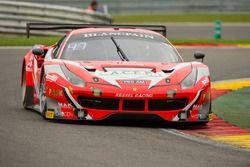 #11 Kessel Racing Ferrari 488 GT3: Michael Broniszewski, Andrea Rizzoli, Matteo Cressoni, Giacomo Pi