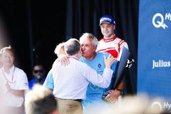 Jean Paul Driot et Jean Todt sur le podium