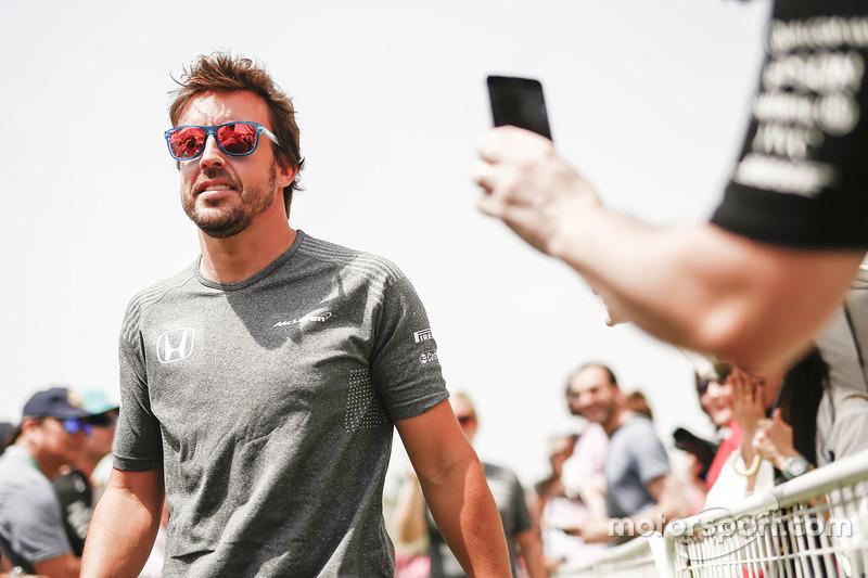 16-е место. Фернандо Алонсо (35 лет)