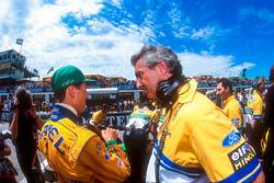 Михаэль Шумахер и Флавио Бриаторе, Benetton