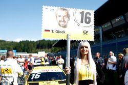 Pitspoes van Timo Glock, BMW Team RMG, BMW M4 DTM
