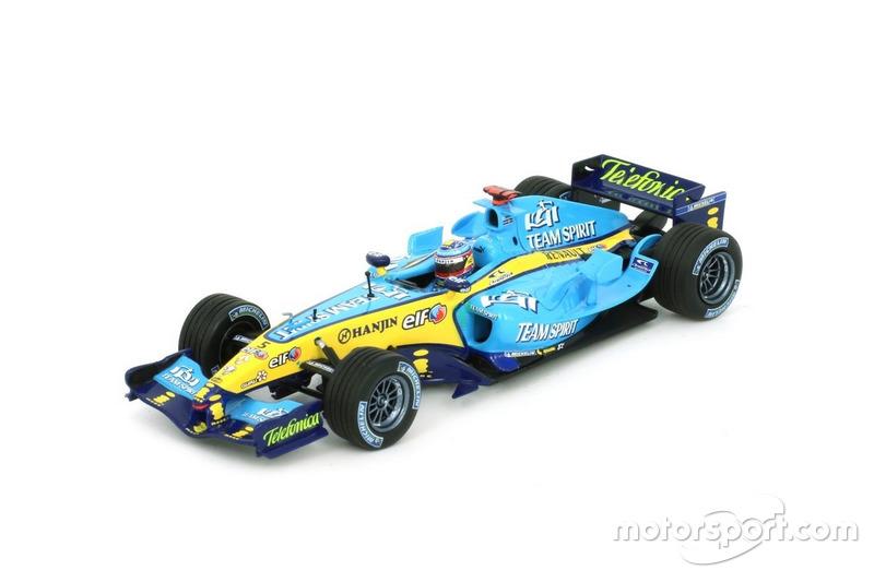 Miniature Minichamps 1:43 - Renault R25 de Fernando Alonso