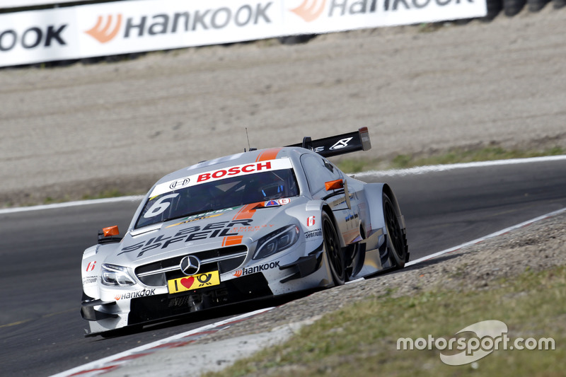 Gewinner und Verlierer zugleich: Robert Wickens (Mercedes)