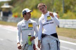 Mike Rockenfeller, Audi Sport Team Phoenix, Audi RS 5 DTM; Paul Di Resta, Mercedes-AMG Team HWA, Mer
