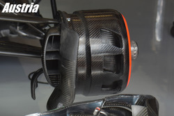McLaren, brake duct Austrian GP
