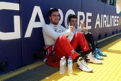 Pepe Oriola, SEAT León, Team Craft-Bamboo LUKOIL and Attila Tassi, Seat Leon, B3 Racing Team Hungary