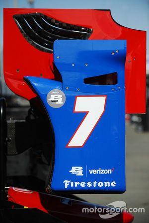 Bodywork for Mikhail Aleshin, Schmidt Peterson Motorsports Honda
